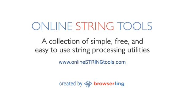 Sort Strings - Online String Tools